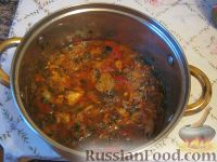Фото приготовления рецепта: Чахохбили по-грузински - шаг №15