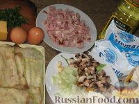 Фото приготовления рецепта: Запеканка из кабачковых и баклажанных рулетов - шаг №2