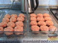 """Фото приготовления рецепта: Мясные """"Ёжики"""" - шаг №5"""