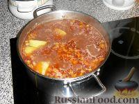 Фото приготовления рецепта: Абгушт – иранский шурпо? Рецепт от Клары - шаг №12