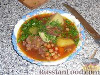 Фото приготовления рецепта: Абгушт – иранский шурпо? Рецепт от Клары - шаг №13