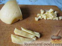 Фото приготовления рецепта: Салат из курицы с ананасами - шаг №4