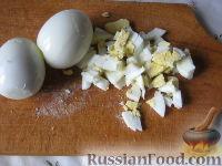 Фото приготовления рецепта: Салат из курицы с ананасами - шаг №6
