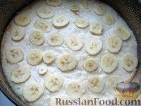 Фото  приготовления рецепта: Манник с бананами - шаг №8