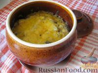 Фото к рецепту: Куриный жульен с грибами