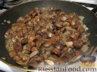 Фото приготовления рецепта: Куриный жульен с грибами - шаг №4
