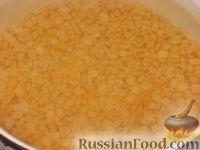 Фото приготовления рецепта: Гороховые оладьи - шаг №3
