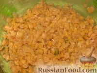 Фото приготовления рецепта: Гороховые оладьи - шаг №4