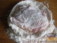 Фото приготовления рецепта: Курица с грибами и овощами в сметане - шаг №2