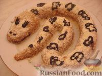 "Фото приготовления рецепта: Торт ""Змея Скарапея"" (Муравейник) - шаг №14"