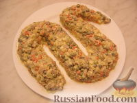 Фото приготовления рецепта: Оливье с индейкой и каперсами - шаг №7