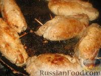 Фото приготовления рецепта: Крученики из свинины - шаг №7