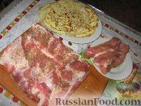 Фото приготовления рецепта: Мясной рулет Украинский - шаг №2