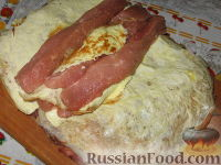 Фото приготовления рецепта: Мясной рулет Украинский - шаг №3