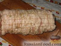 Фото приготовления рецепта: Мясной рулет Украинский - шаг №4