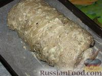Фото приготовления рецепта: Мясной рулет Украинский - шаг №5
