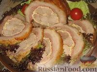 Фото приготовления рецепта: Мясной рулет Украинский - шаг №6