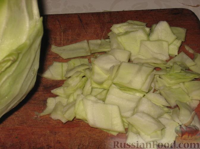 готовим  салат  из  капусты  быстро