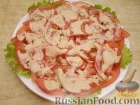 Фото приготовления рецепта: Салат с морским коктейлем - шаг 9.