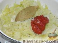 Фото приготовления рецепта: Солянка из капусты с грибами - шаг №10