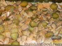 Фото приготовления рецепта: Солянка из капусты с грибами - шаг №13