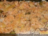 Фото приготовления рецепта: Солянка из капусты с грибами - шаг №14