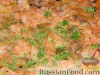 Фото приготовления рецепта: Солянка из капусты с грибами - шаг №16