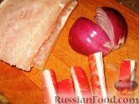 Фото приготовления рецепта: Рыбный рулет с крабовыми палочками - шаг №1