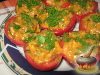 Фото к рецепту: Помидоры, фаршированые баклажанами