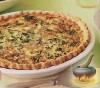 Фото к рецепту: Киш со шпинатом и сыром Грюйер