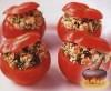 Фото к рецепту: Помидоры, фаршированные кускусом с изюмом