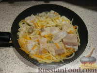 Фото приготовления рецепта: Пангасиус с овощами - шаг №6