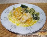 Фото приготовления рецепта: Пангасиус с овощами - шаг №9