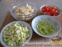 Фото приготовления рецепта: Свинина с овощами в горшочке - шаг №5