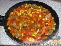 Фото приготовления рецепта: Свинина с овощами в горшочке - шаг №7