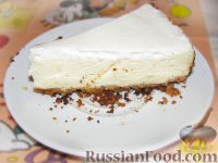 """Фото к рецепту: Творожный торт """"Нежность"""""""