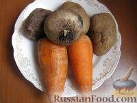"""Фото приготовления рецепта: Салат  """"Винегрет """" с селедкой - шаг 2."""