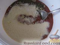 Фото приготовления рецепта: Пышные печеночные котлеты - шаг №6