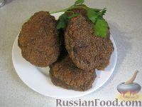 Фото приготовления рецепта: Пышные печеночные котлеты - шаг №11