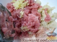 Фото приготовления рецепта: Котлеты куриные а-ля «Пожарские» с сыром - шаг №5