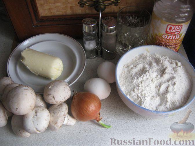 Рецепт начинки для тарталеток с грибами