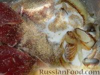 Фото приготовления рецепта: Бифштекс по-венски - шаг №6