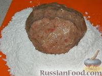 Фото приготовления рецепта: Бифштекс по-венски - шаг №9