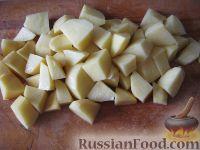 Фото приготовления рецепта: Простой грибной суп из шампиньонов - шаг №3