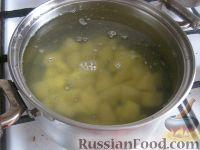 Фото приготовления рецепта: Простой грибной суп из шампиньонов - шаг №4