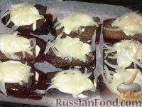 Фото приготовления рецепта: Печень на свекле - шаг №5