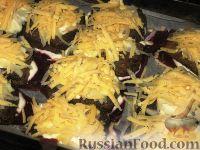 Фото приготовления рецепта: Печень на свекле - шаг №6