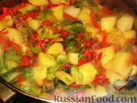 Фото приготовления рецепта: Гювеч болгарский - шаг №4