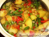 Фото приготовления рецепта: Гювеч болгарский - шаг №7