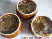Фото приготовления рецепта: Перловая каша с грибами в горшочке - шаг №11